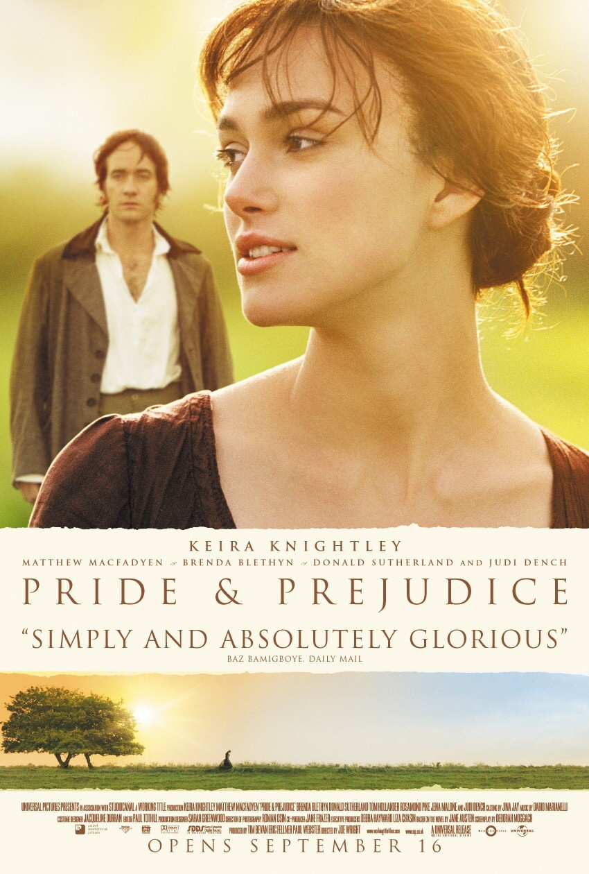 The Pride and Prejudice showing Knightley and Macfadyen