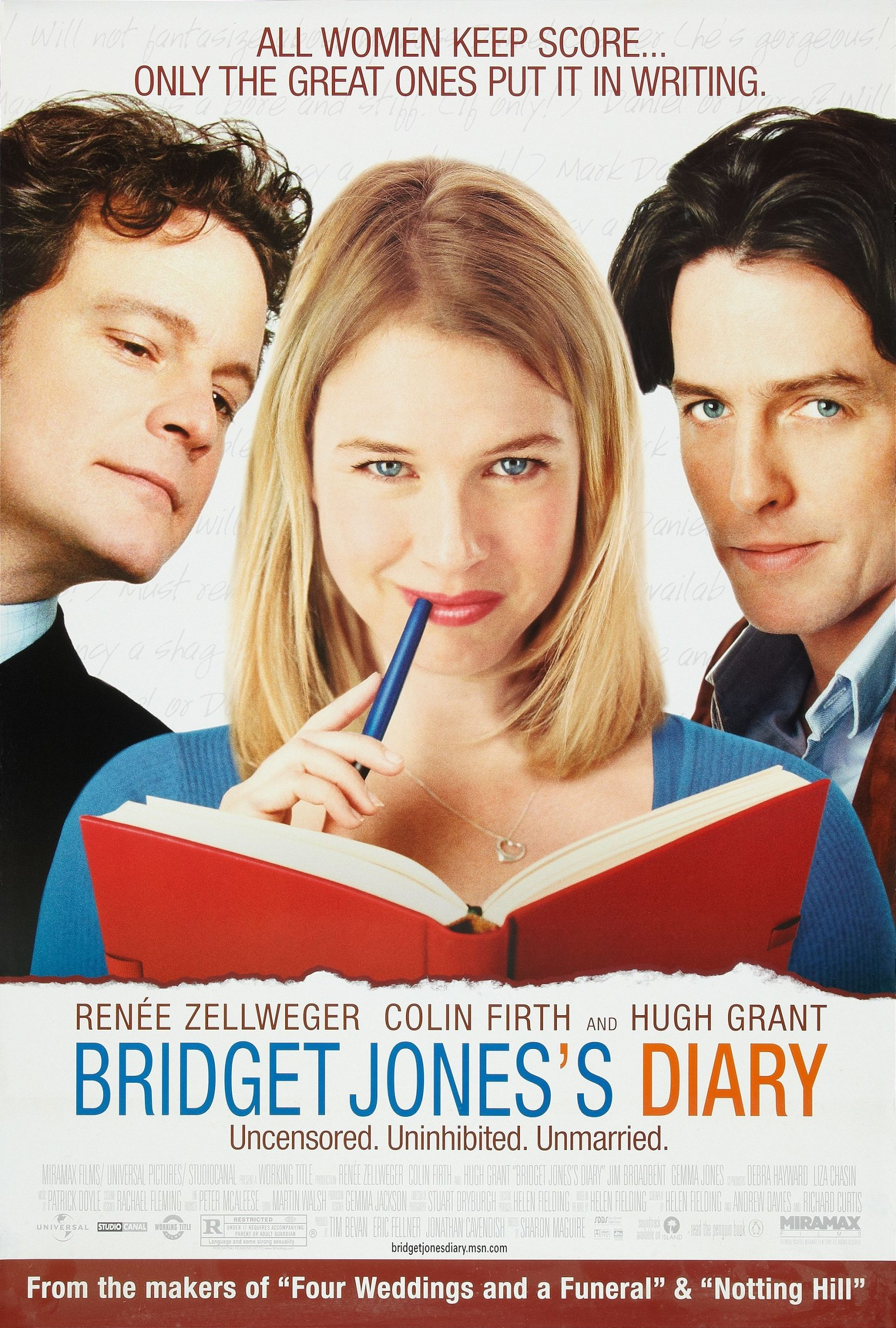 The poster for Bridget Jones's Diary