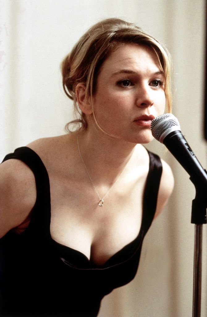 An image of Bridget from Bridget Jones's Diary