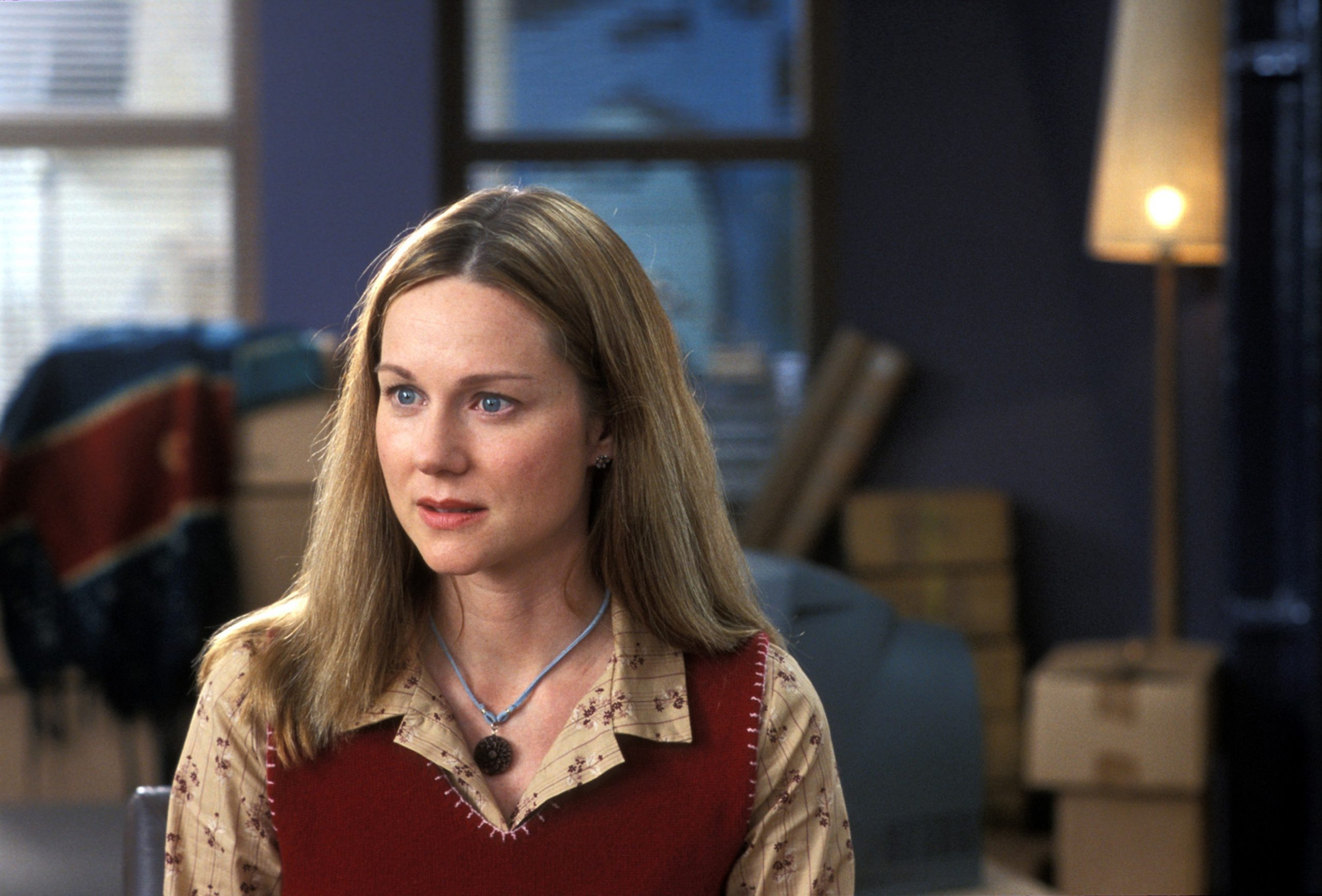 Laura Linney in Love Actually