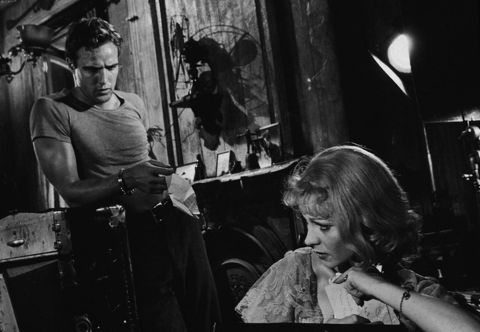 An image of Stanley and Blanche from A Streetcar named desire