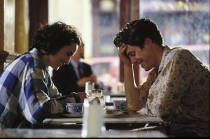 Image from four weddings and a funeral of Charles and Carrie