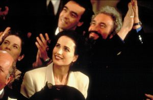 Image from Four weddings and a funeral of Matthew, Gareth and Carrie