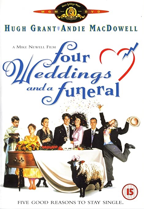 Poster for Four Weddings and a Funeral