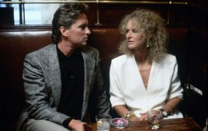 An image from Fatal Attraction of Dan and Alex
