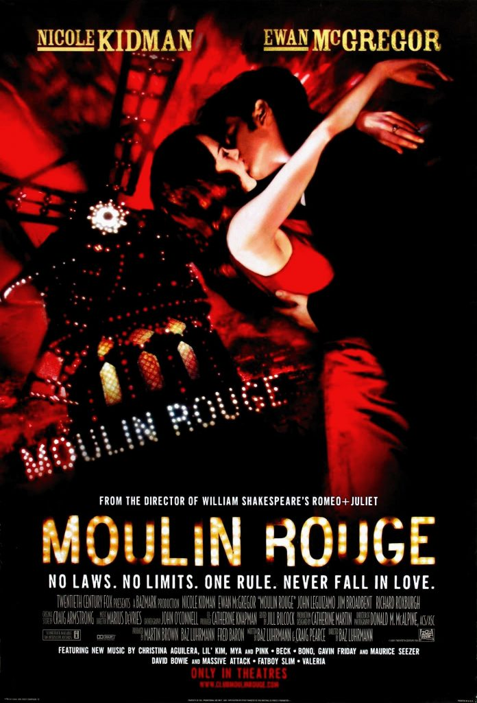 Poster from Moulin Rouge
