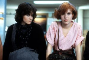 Clare and Alison from The Breakfast Club