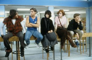 The five main characters from The Breakfast Club