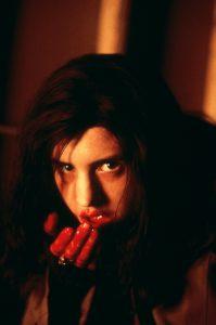 Brigitte, drinking blood in Ginger Snaps