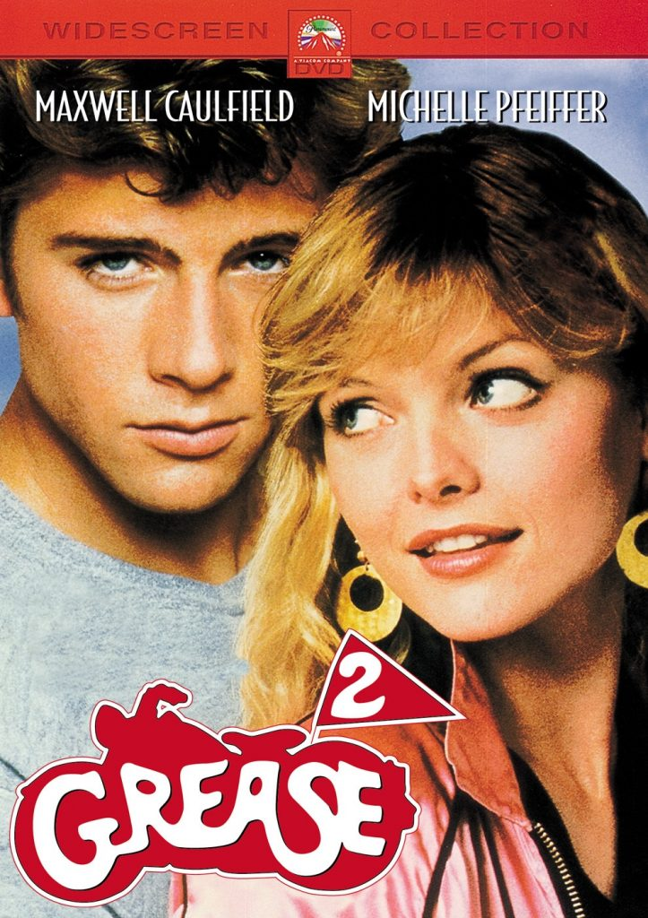 The poster for Grease 2