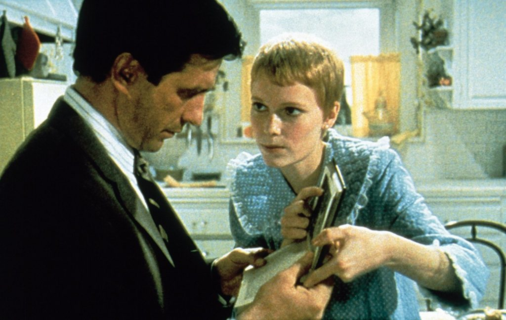 Image from Rosemary's Baby of Rosemary and Guy
