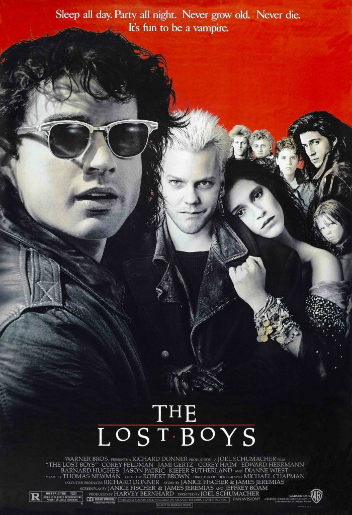 The poster for The Lost Boys