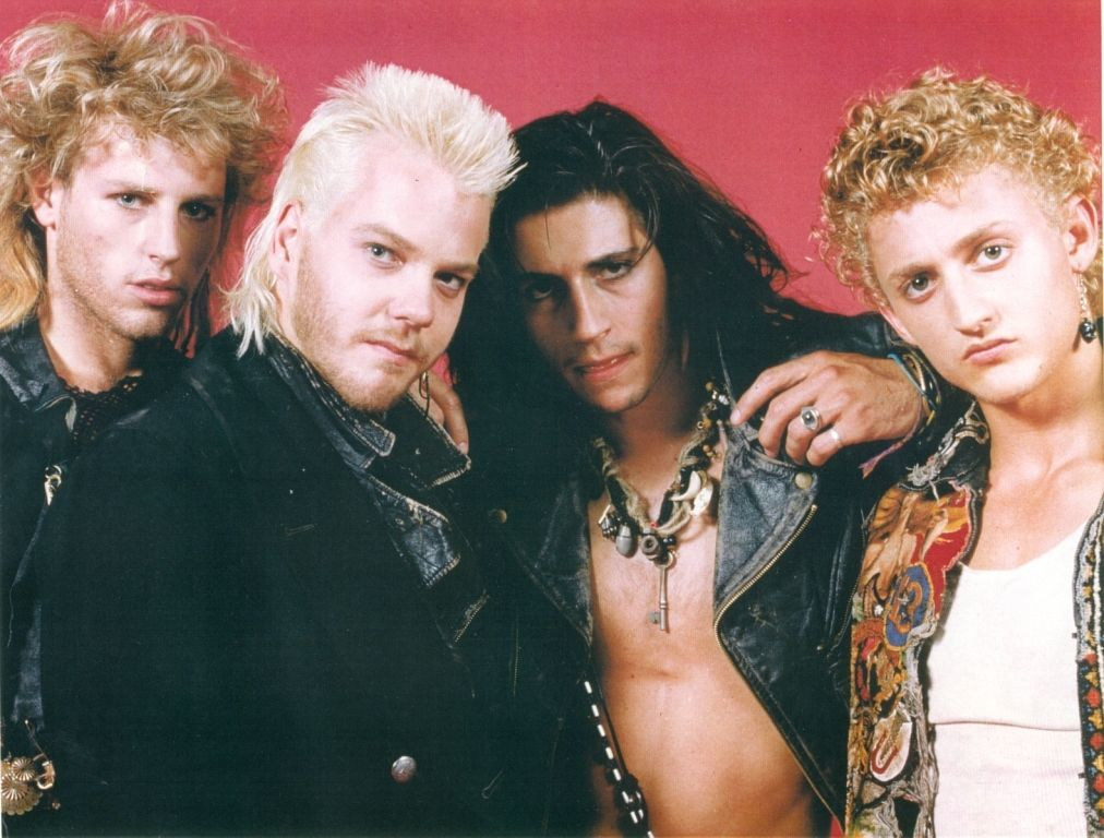 All of the sexy and very, very 80s Lost Boys