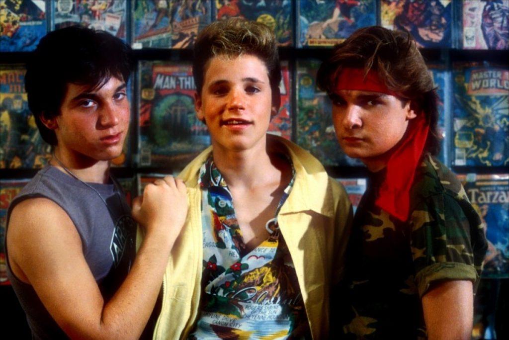 Corey Haim, Corey Feldman and the other Frog brother